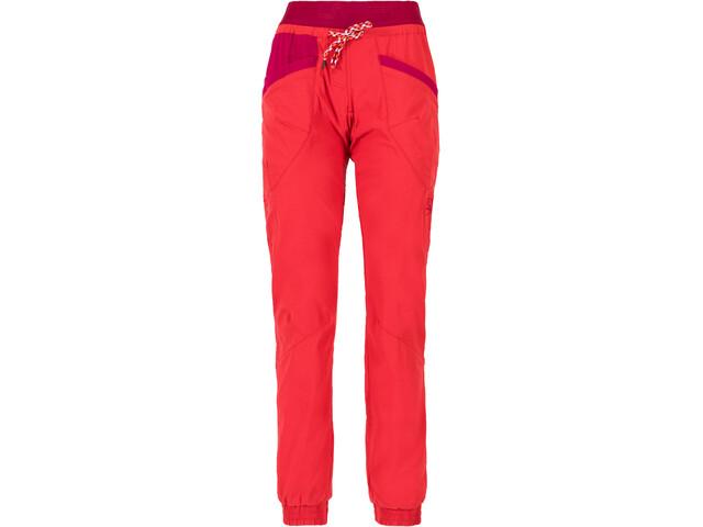 La Sportiva Mantra Spodnie Kobiety, garnet/beet